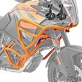 Set Sturzbügel + Scheinwerfer XL für KTM 1290 Super Adventure R/S/T 17-20 orang
