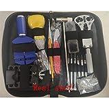 WSGGFA 147-teiliges Uhren-Reparatur-Werkzeug-Set, Uhren-Stiftentferner, Gehäuseöffner, Federsteg-Entferner, Horlogemaker, Gereedschap-Reparatur-Uhren-Werkzeug-Set (Farbe: 147-teilig)