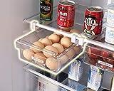HapiLeap Kühlschrank-Organizer Schubladenorganizer Einzigartiges Design Pull Out Behälter für Kühlschrank Aufbewahrungsbox Haus Organizer 1 Stück
