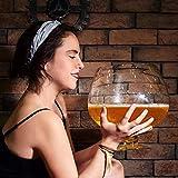 XiYou Extra großes Weinglas Riesenparty Weinglas Whiskyglas Cafe Bar Saft Rotweinglas ist perfekt für Geburtstagsfeiern (2000ML)