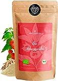 BIO Ashwagandha Pulver - 100% REINE Ashwagandhawurzel gemahlen - Bio - Withania Somnifera - Schlafbeere, Winterkirsche, indischer Ginseng - abgefüllt in Deutschland (DE-ÖKO-39) | 80degrees (250g)
