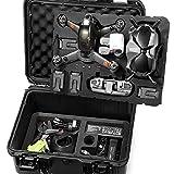 LEKUFEE Wasserdicht Koffer für DJI FPV Combo und DJI FPV Drohne Zubehör【FPV Drohne und Zubehör Sind Nicht Enthalten】