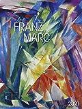 Franz Marc 2021: Großer Kunstkalender. Wandkalender mit Werken des Künstlers. Expressionismus. Kunst Format: 48x64