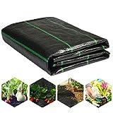LawnScape Premium Unkrautmembran 2 m x 10 m   Strapazierfähiges UV-stabilisiertes gewebtes PP-Unkrautvlies für Gärten, Rasenflächen, Terrassen, Unterdecks und Gehwege