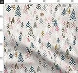 Wandern, Zelten, Berg, Abenteuer Stoffe - Individuell Bedruckt von Spoonflower - Design von Nouveau Bohemian Gedruckt auf Leinen Baumwoll Canvas