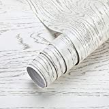 Klebefolie Selbstklebende Folie Holzoptik Möbelfolie PVC Tapeten 61x500cm Wasserdicht Aufkleber Holzfolie für Möbel Küche Tür Dekofolie Wandaufkleber