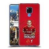 Head Case Designs Offizielle Liverpool Football Club Xherdan Shaqiri 2019/20 Erstes Team Gruppe 1 Soft Gel Handyhülle Hülle Huelle kompatibel mit Huawei Mate 20 X