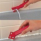 Zent Handgefertigte Mini-Werkzeuge, Schaber, praktischer Bodenreiniger, Fliesenreiniger, Oberflächenkleber, Restschaufel, 2 Stück