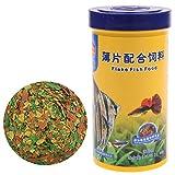 ZJL220 250ml Zierfischfutter Goldfisch Karpfen Guppys Kleine Mittel Tropische Fische Flocken Futter Aquarium Zubehör
