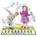 Kinder Klaviermatte Kleinkind Kinderspielzeug Mädchen Jungen, Touch Game Teppich Matte Jungen Geburtstagsspielzeug 2-9 Jahre altes Jungen Geschenk Mädchen Junge Musik Tanzmatte