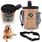 Xionghonglong Futterbeutel für Hunde,Hunde Leckerlie Tasche,Wasserdicht Futtertasche,Leckerlibeutel für Hunde,Hunde Futtertasche Beutel,für Hunde zur Hundetraining und Futteraufbewahrung (Braun)