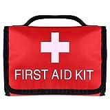 Fltaheroo Wasserdichtes Tragbares Erste-Hilfe-Set für Outdoor-Autos Zusammenklappbare Tasche mit Hoher KapazittT für die Notfallbehandlung auf Reisen oder auf Dem Campingplatz