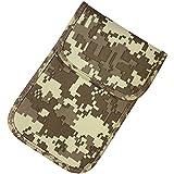 Effektive 99,99% Anti-Strahlung Handy Anti-Tracking Anti-Spionage GPS RFID-Signal Blocker Tasche Tasche Hörer Funktion Tasche EMF Schutz Abschirmung WiFi 5G (Mineral-Tarnung)