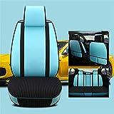 EET Universal-Autositz deckt den vollen Polyester-Stoff, innen Reißverschluss-Design und reservierte Öffnungslöcher Airbag kompatibel innen, 9 stücke,B
