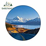 A/X 13 cm x 13 cm für Mount Cook National Park Neuseeland Motorrad Auto Aufkleber Stoßstange Fenster Vinyl Auto Aufkleber