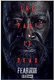YUMKNOW Bild Auf Leinwand 60x90cm Kein Rahmen Lennie James Darsteller TV Fear The Walking Dead Staffel 6 (2020) TV Cover Art Poster Wohnkultur High Definition Poster Wohnzimmer