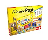 Noris 606011236 Kinderpost, Klassisches Kinder Rollenspiel, inkl. Postschalter und viel Postzubehör, Postkarten, Briefe, Pakete, für Kinder ab 4 J