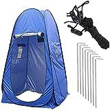 XYDDP Campingzelt, faltbares Pop-up-Pod Umkleidekabine Privatzelt Camping-WC-Zelt Pop-up-Dusche Privatzelt, wasserdicht für den Umkleideraum im Freien