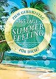 bentino Geburtstagskarte XL mit Musik, DIN A4 Set mit Umschlag, hochwertige Glückwunschkarte spielt 'Summer dreaming', Sound in toller HiFi Qualität, Schönes Geschenk zum Geburtstag