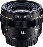 Canon Objektiv EF 50mm F1.4 USM für EOS (Festbrennweite, 58mm Filtergewinde, AF-Motor), schwarz
