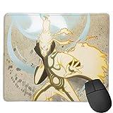 Padwasserdicht Mauspad Mousepad Stoffoberfläche,Tischunterlage Gaming Anime N-A-r_u-to 038 Non-Skid Maus/Tastatur Matte für PC/Laptop Gamer Mat schreiben rutschfeste Gummibasis 25x30cm