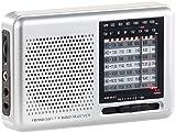 auvisio Kofferradio: Analoger 9-Band-Weltempfänger mit FM, MW & 7X KW, Jackentaschen-Format (Transistorradio)