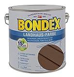 Bondex Landhaus-Farbe 2,50l braun - 391314