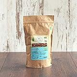 süssundclever.de® Bio Mandeln | geröstet & gesalzen | 500g | plastikfrei und ökologisch-nachhaltig abgepackt | aus Sp