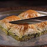 Pistazien Baklava/ direkt aus Gaziantep /traditionell türkisches Rezept/Beste Qualität/ Frisch/ Ohne Zusatzstoffe/454 G/