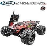 s-idee® 18160 9116 RC Auto Buggy wasserdichter Monstertruck 1:12 mit 2,4 GHz über 40 km/h schnell, wendig, voll proportional 2WD ferngesteuertes Buggy Racing