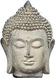 YYAI-HHJU Tragen Sie Widerstandsfähig, Harz Zen Buddha Statue, Innendekoration, Langlebig, Geeignet Für Heimdekoration, Statue, Feines Handwerk, Buddha Kopf Handwerk Harz Ornamente, Büro