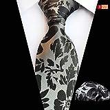 ERSD Krawatten Krawattentuch Herrenanzug Accessoires Krawattentuch Zweiteilig (Farbe : T271)