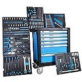 DeTec. Werkstattwagen, gefüllt mit Werkzeug
