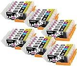 INK INSPIRATION® Ersatz für Canon PGI-550XL CLI-551XL Druckerpatronen 30er-Pack, kompatibel mit Canon Pixma iP7250 MX925 MG6350 MG5450 MG5550 MG5650 MG6450 MG6650 MG7150 MG7750 iX6850 iP8750 MX725