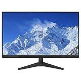 YILANJUN Monitor, 24 Zoll Display, HD 1080P (1920×1080), 75 Hz, HDMI+VGA, VA-Panel, 5 ms, Der Wand Montiert, 178° Breiter Betrachtungswinkel, für Internetcafés Wohnzimmer Büros