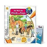 Ravensburger tiptoi Buch Band 13   Die Welt der Pferde und Ponys + Kinder Weltkarte - Länder, Tiere, Kontinente