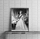 Foto: Her Majesty Queen Elizabeth II, Lineal, Monarchie, Europa, Bademäntel, Krone, D chandor, C1952