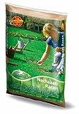 Rasenmischung, Pegasus Nachsaat, Inhalt: 1kg für ca. 25 m², schnell und leichter Lückenschluss - auch ohne Umgraben
