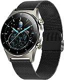 Smartwatch-C Robuste Armbanduhr, Outdoor-Sport, IP68, wasserdicht, Fitness-Tracker, Blutdruckmessgerät, Smartwatch