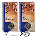 Sonnentor BIO Mate-Tee Set: 2x Mate Bio lose (90 g) + Teezange - BIO-AT-301