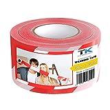Absperrband   Flatterband   Warnband   Trassierband   Rot-Weiß   ausziehbar reißfest für Baustellenabsperrungen, Gefahrenstellen UVM. (1 Rolle 100 m Absperrband)