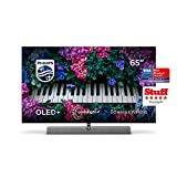 Philips Ambilight TV 65OLED935/12 OLED TV 65 Zoll - 164 cm mit Sound von Bowers & Wilkins (P5 Picture Engine mit KI, 4K UHD, Dolby Vision∙Atmos, Android TV, Triple Tuner) [2020/2021 Modell]