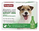Zecken- und Flohschutz SPOT ON für Hunde bis 15 kg
