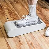 Automatischer Schuhabdeckungs Spender mit Einweg-Schuhmembran, Staub und Wasserdicht, Halten Sie den Boden Sauber, für Familien, Krankenhäuser, Lab