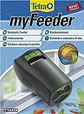 Tetra myFeeder Futterautomat für Zierfische im Aquarium, anthrazit, inklusive B