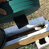 Primlisa GardenMate, Gartenvlies - Unkrautvlies Reißfestes Unkrautschutzvlies - Hohe UV-Stabilisierung - Wasserdurchlässig,Atmungsaktiv(1x 1,2 m)