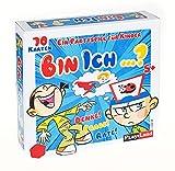 Play Land Bin ich ...? Ratespiel - Lustiges Gesellschaftsspiel & Fragespiel für Kinder - Gemeinschaftsspiel für 2 bis 4 Personen - Rätselspiel mit 4 Kopfringen & 70 Karten - Denke! Frage! Rate!