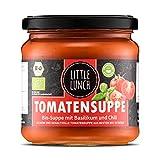 Little Lunch Bio Suppe | Tomatensuppe | 1x 350ml | Vegan | 100% Bio-Qualität | Ohne zugesetzten Zucker | Glutenfrei | Keine künstlichen Zusätze | Keine Geschmacksverstärk