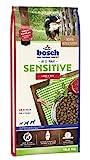 bosch HPC Sensitive Lamm & Reis | Hundetrockenfutter für ernährungssensible Hunde aller Rassen | 1 x 15 kg