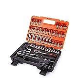 LHQ-HQ Satagood Tools Automobil-Motorrad-Auto-Reparatur-Werkzeugkasten, Präzisions-Ratschenschlüssel-Set, Hülse, Universal-Gelenk, Hardware-Werkzeug-Kits